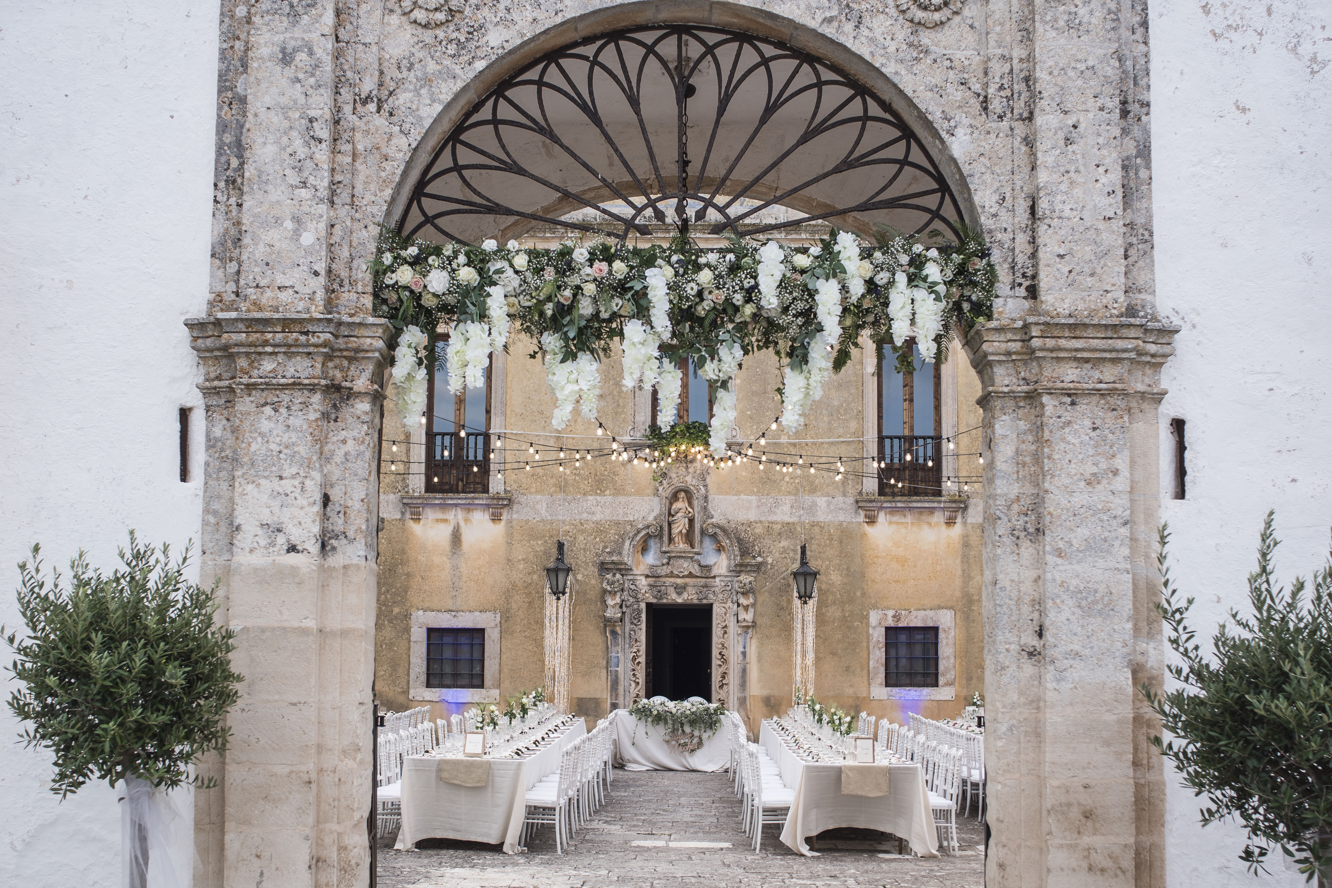 events and weddings in Masseria